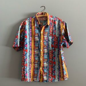 Vintage Awesome Men's Button Up